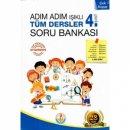 Bilal Işıklı Yayınları 4. Sınıf Adım Adım Tüm Dersler Soru Bankası