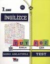 7.Sınıf İngilizce Konu Anlatımlı Test Açı Yayınları