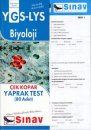Sınav YGS LYS Biyoloji Çek Kopar Yaprak Test 80 Adet