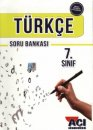 7.Sınıf Türkçe Soru Bankası Açı Yayınları