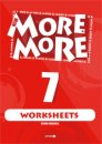 MORE & MORE ENGLISH WORKSHEETS 7
