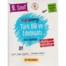 9. Sınıf Türk Dili ve Edebiyatı Soru Kitabı Eksen Yayınları