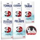 YGS Sözel Soru Bankaları Seti 5 Kitap Hocalara Geldik Çözüm Yayınları