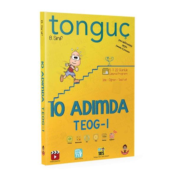 8. Sınıf 10 Adımda TEOG 1 Tonguç Akademi Kargo Ücretsiz