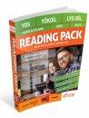 YDS-YÖKDİL-LYS DİL-Hazırlık Atlama-TOEFL-IELTS Reading Pack Basitten Zora Pasajlar Yargı Yayınları
