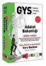 2017 Eylül GYS Adalet Bakanlığı Doğru Tercih Konu Özetli ve Açıklamalı Soru Bankası Yargı Yayınları