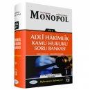 2018 Adli Yargı Hakimliği Kamu Hukuku Soru Bankası Monopol Yayınları