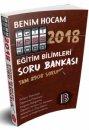 2018 KPSS Eğitim Bilimleri Tek Kitap Soru Bankası Benim Hocam Yayınları