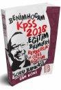 2018 KPSS Eğitim Bilimleri Rehberlik ve Özel Eğitim Tamamı Çözümlü Soru Bankası Benim Hocam Yayınları