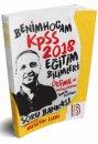2018 KPSS Eğitim Bilimleri Ölçme ve Değerlendirme Tamamı Çözümlü Soru Bankası Benim Hocam Yayınları