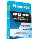 2017 KPSS A Grubu Hukuk Açıklamalı Soru Bankası Monopol Yayınları