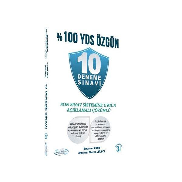 2017 %100 YDS Özgün 10 Deneme Sınavı Monopol Yayınları