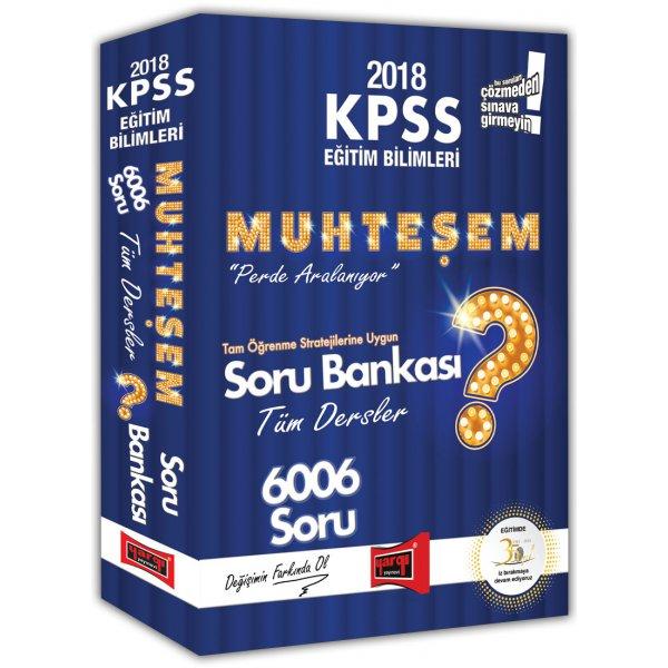 2018 KPSS Eğitim Bilimleri Muhteşem 6006 Tüm Dersler Soru Bankası Yargı Yayınları