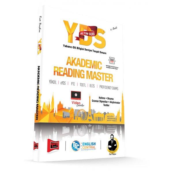 YDS Altın Seri Akademic Reading Master 6. Baskı Yargı Yayınları