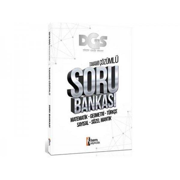 2018 DGS Tamamı Çözümlü Soru Bankası İsem Yayınları