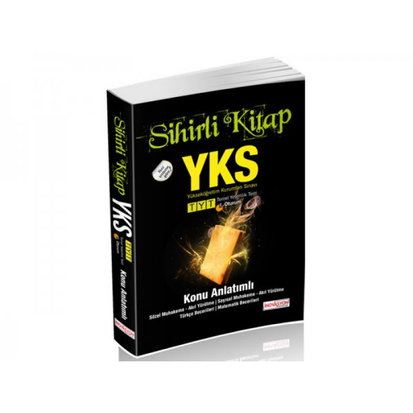 YKS Temel Yeterlilik Testi 1. Oturum Sihirli Kitap Konu Anlatımlı İnovasyon  Yayınları *