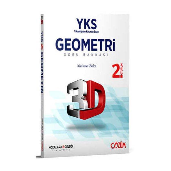 Hocalara Geldik YKS 2. Oturum 3D Geometri Soru Bankası Çözüm Yayınları