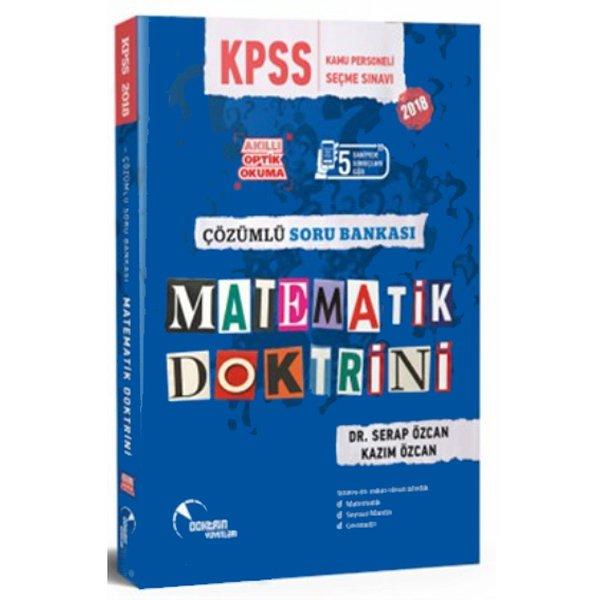 2018 Kpss Matematik Doktrini çözümlü Soru Bankası Serap özcan Kazım