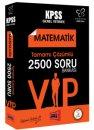 2018 KPSS Değişim Serisi VIP Matematik Tamamı Çözümlü 2500 Soru Bankası Yargı Yayınları