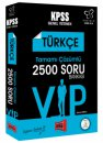 2018 KPSS Değişim Serisi VIP Türkçe Tamamı Çözümlü 2500 Soru Bankası Yargı Yayınları