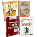 2018 KPSS Tarihe Doyuran Soru Seti Tarih Konu Hediyeli 4 Kitap Ramazan Yetgin Yasin Korkut Cavit Ardıç Kadir Koç