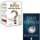 2018 KPSS Genel Kültür Genel Yetenek Hazine Soru Seti - Dan Brown Başlangıç Muhteşem İkilisi