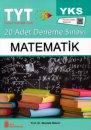 YKS TYT Matematik 20 Adet Deneme Sınavı Ata Yayınları