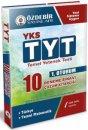 YKS 1. Oturum TYT Türkçe Temel Matematik 10 Deneme Sınavı Özdebir Yayınları