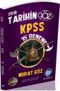 2018 KPSS Tarihin Gözü 15 Deneme Kr Akademi