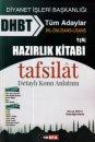 DHBT Tüm Adaylar Hazırlık Kitabı Tafsilat Detaylı Konu Anlatımı Yedi Beyza Yayınları