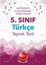 5. Sınıf Türkçe Yaprak Test Nartest Yayınları