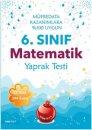 6. Sınıf Nar Test Matematik Yaprak Testi Nartest Yayınları