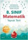 8. Sınıf Matematik Yaprak Test Nartest Yayınları