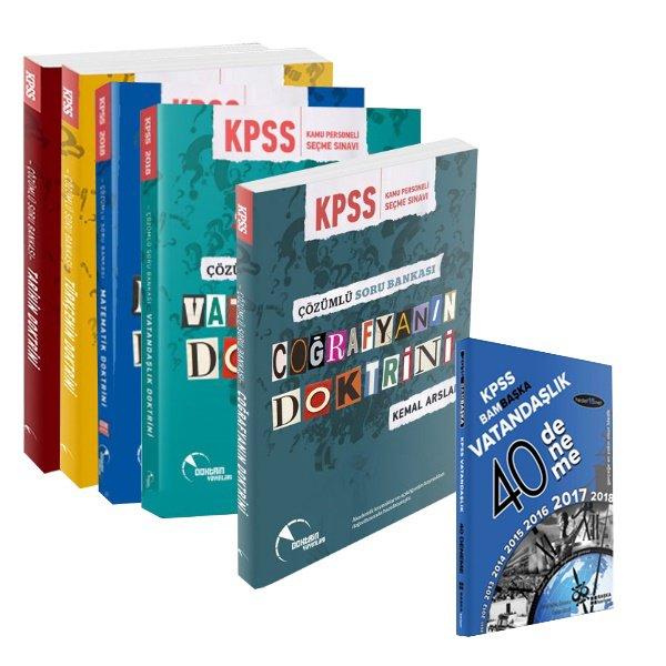 2018 KPSS Genel Yetenek Genel Kültür Modüler Soru Bankası Doktrin Yayınları Vatandaşlık Deneme Hediyeli