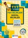 YKS 1. Oturum TYT Fen Bilimleri Sosyal Bilimler Konu Özetli Soru Bankası Evrensel İletişim Yayınları