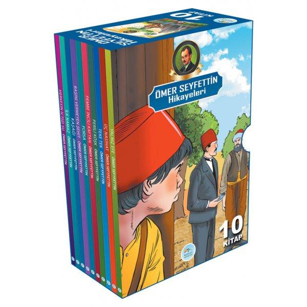 Ömer Seyfettin Hikayeleri Seti 10 Kitap Mavi Çatı Yayınları