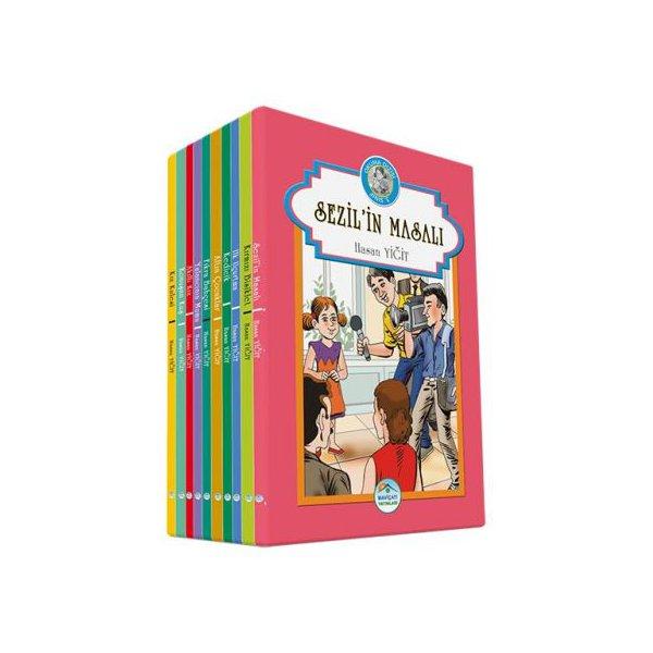 Okuma Dizisi 10 Kitap Set - Hasan Yiğit - 3.Sınıf Kutusuz Mavi Çatı Yayınları Setler