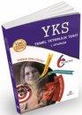 YKS TYT 6 Deneme Video Çözüm Optikli 1.Oturum Bilim Yolu Yayıncılık