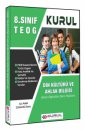 8.Sınıf TEOG Din Kültürü ve Ahlak Bilgisi Hızlı Öğretim Ders Notları Kurul Yayıncılık