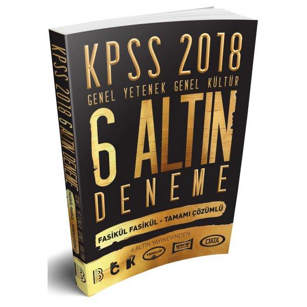 2018 KPSS Genel Yetenek Genel Kültür Tamamı Çözümlü 6 Altın Deneme Benim Hocam Yayınları