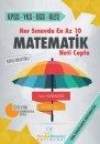 Her Sınavda En Az 10 Matematik Neti Cepte Cevdet Özsever Yayınları