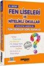 8. Sınıf Fen Liseleri ve Nitelikli Okullar Sınavına Hazırlık Tüm Dersler Soru Bankası Ankara Yayıncılık