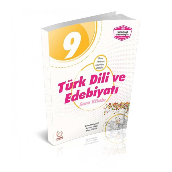 9. Sınıf Türk Dili ve Edebiyatı Soru Bankası Palme Yayınları