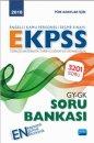 2018 EKPSS Genel Yetenek Genel Kültür Soru Bankası Nobel Yayınevi