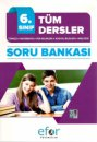 6. Sınıf Tüm Dersler Soru Bankası Efor Yayınları