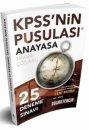 2018 KPSS'nin Pusulası Anayasa 25 Çözümlü Deneme Ali Koç Yeni Baskı Doğru Tercih Yayınları