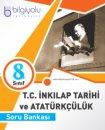 8. Sınıf T.C. İnkılap Tarihi ve Atatürkçülük Soru Bankası Bilgi Yolu Yayınları