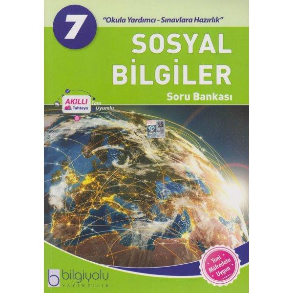 7. Sınıf Sosyal Bilgiler Soru Bankası Bilgi Yolu Yayınları