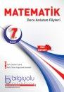 7. Sınıf Matematik Ders Anlatım Föyü Bilgi Yolu Yayınları