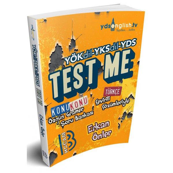 YÖKDİL YKSDİL YDS Gramer Test Me Soru Bankası Benim Hocam Yayınları